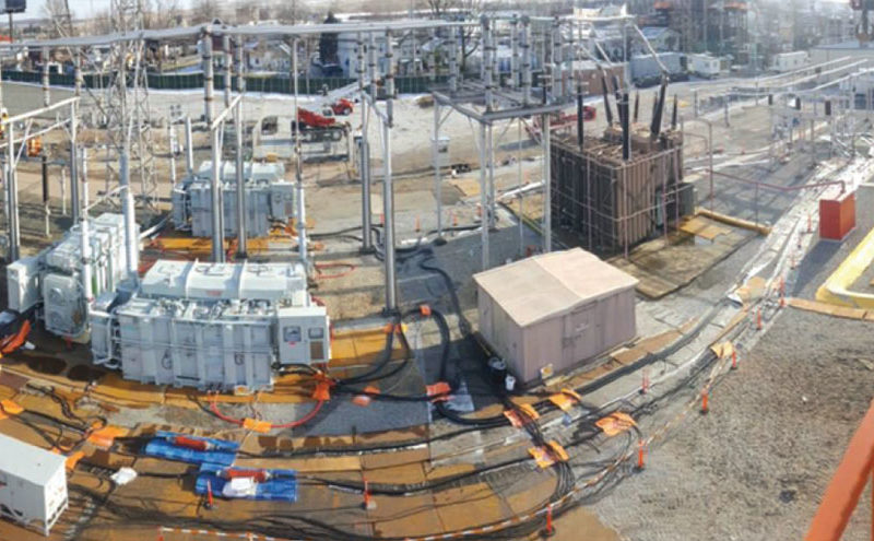 Mobile transformers for grid resiliency