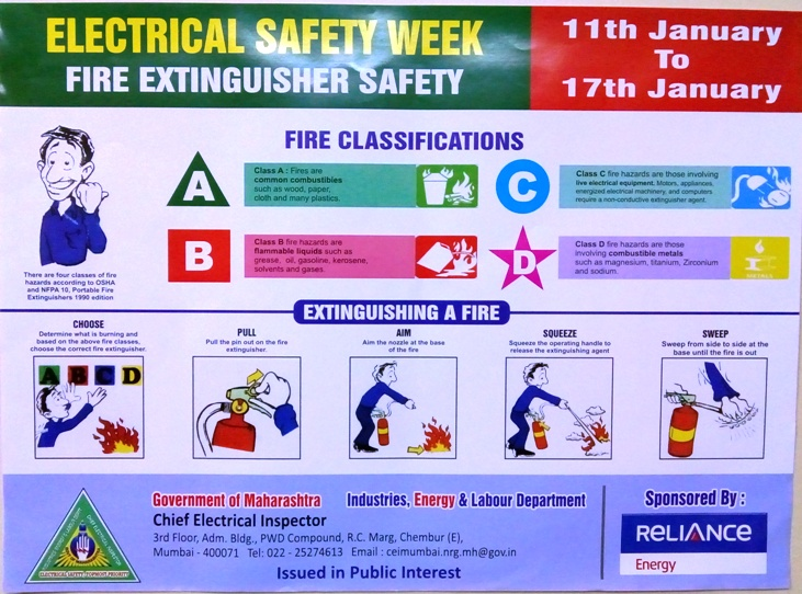 U0026quot Electricity Safety Week U0026quot  Launched In Maharashtra